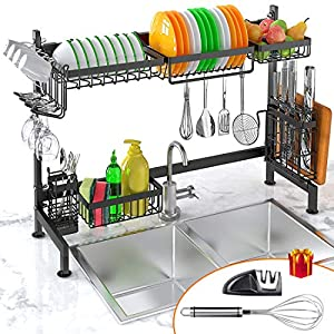 Over Sink Dish Drying Rack
