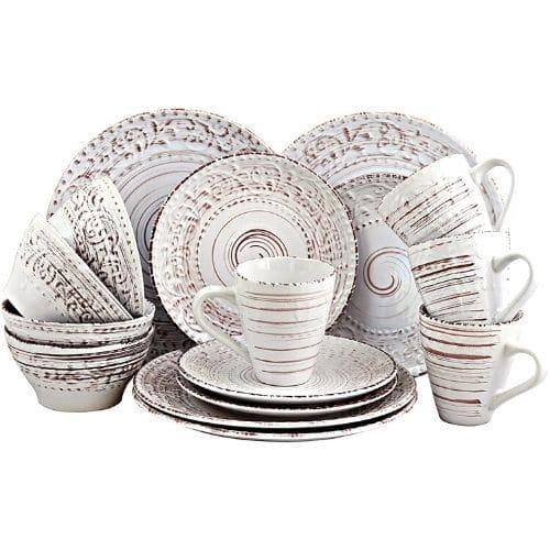 Stoneware Ocean Dinnerware Dish Set